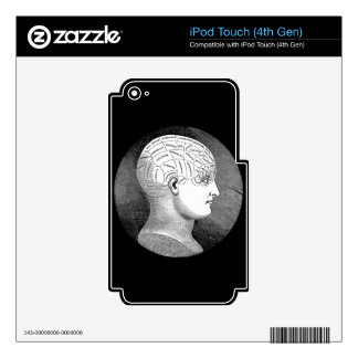 Phrenology Decals For iPod Touch 4G