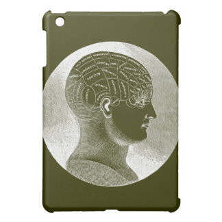 Phrenology Head iPad Mini Cover