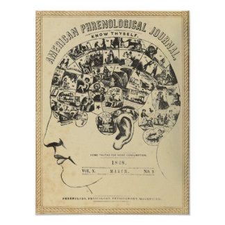 Phrenology: Know Thyself Poster