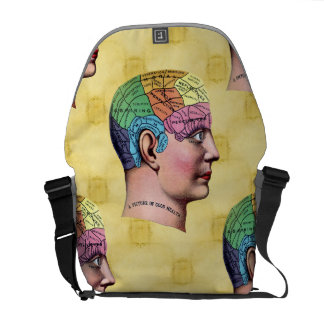 Phrenology Rickshaw Messenger Bag