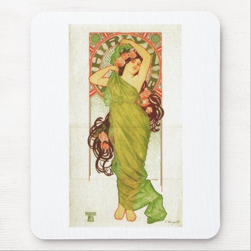Phryne 1899 mouse pad
