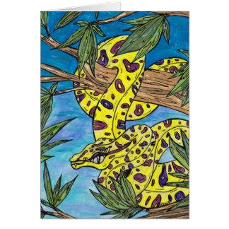 Phryne el pitón tarjetas