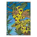 Phryne the Python Greeting Card