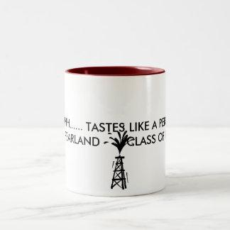 phs_logo_oil, AHHHHHH...... TASTES LIKE A PERFE... Two-Tone Coffee Mug