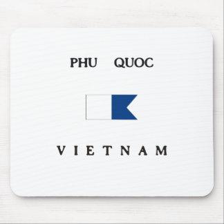 Phu Quoc Vietnam Alpha Dive Flag Mouse Pad