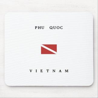 Phu Quoc Vietnam Scuba Dive Flag Mouse Pad