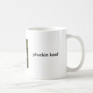 Phuckin Kool Pizza T New Skool Coffee Mug