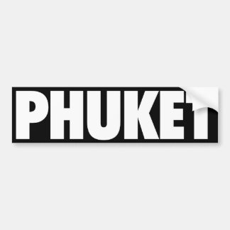 Phuket Bumper Sticker