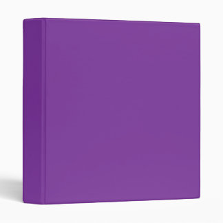 Phuket Purple Royal Violet Indigo Binder