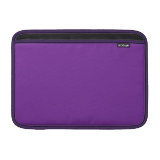 Phuket Purple Royal Violet Indigo MacBook Air Sleeves