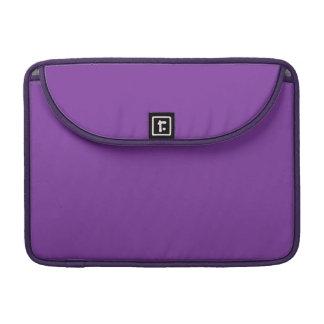 Phuket Purple Royal Violet Indigo Sleeve For MacBook Pro