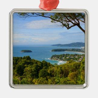 Phuket Thailand - Kata Beach Metal Ornament