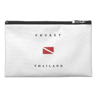 Phuket Thailand Scuba Dive Flag Travel Accessory Bags