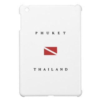 Phuket Thailand Scuba Dive Flag iPad Mini Cases