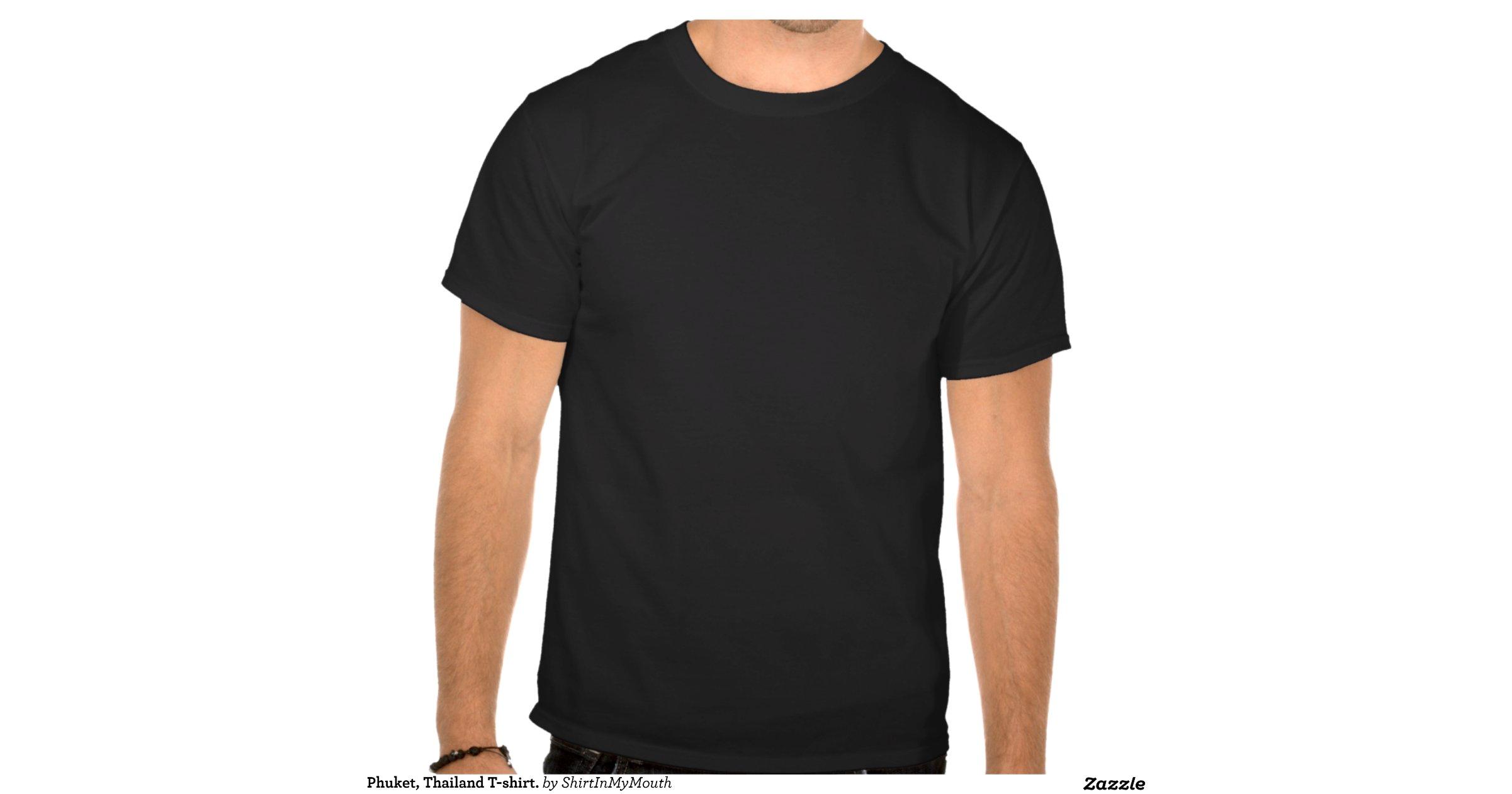 Phuket thailand t shirt shirts zazzle for T shirt printing thailand