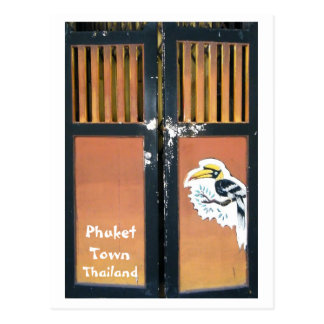 Phuket Town, Thailand Post Card