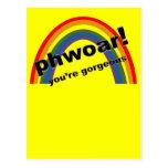 Phwoar - usted es magnífico tarjetas postales