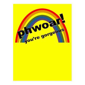 Phwoar - You're Gorgeous Postcard