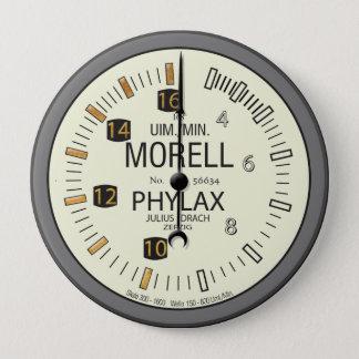 PhylaxMorell Tachometer Pinback Button