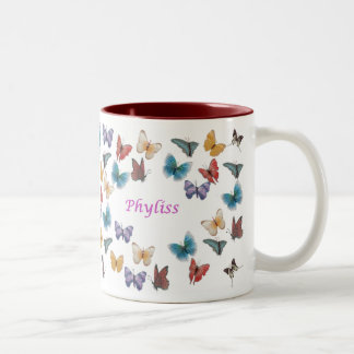 Phyliss Two-Tone Coffee Mug
