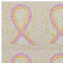 Phyllodes Tumor Breast Cancer Angel Ribbon Fabric