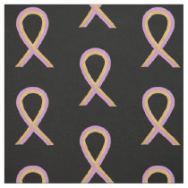 Phyllodes Tumor Breast Cancer  Awareness Ribbon Fabric