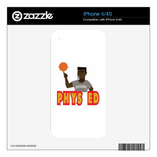 Phys Ed iPhone 4 Decals