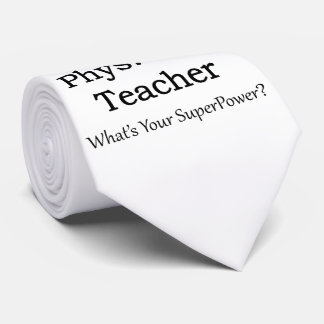 Phys. Ed. Profesor Corbatas Personalizadas