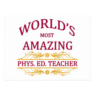 Phys. Ed. Teacher Postcard