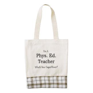Phys. Ed. Teacher Zazzle HEART Tote Bag