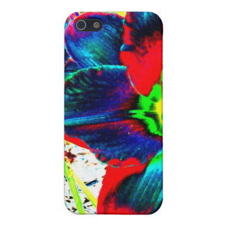 Physchedelic Lily Phone pad/cover. iPhone SE/5/5s Cover