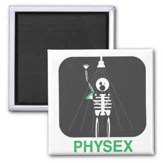 Physex Shower 2 Inch Square Magnet