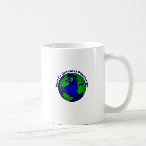 Physiatrist más grande del mundo tazas de café