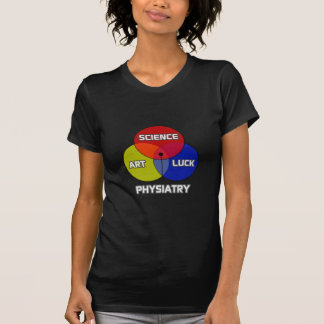 Physiatry .. Science Art Luck T-Shirt