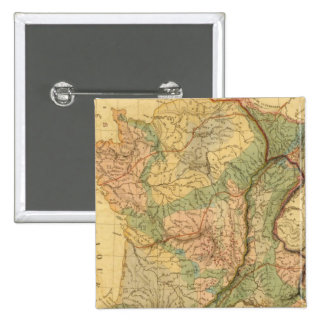 Physical and mineralogical map of France Button