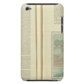 Physical Chart of the Atlantic Ocean continued iPod Touch Case-Mate Case