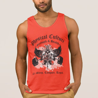 Physical Culture - Strength and Health - Crest Tank Tops