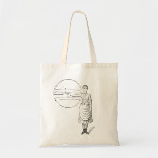 Physical Culture vintage image tote