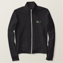 PHYSICAL EDUCATION EMBROIDERED JACKET