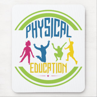 Physical Education- Kids Playing Mouse Pad