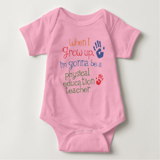 Physical Education Teacher (Future) Infant Baby T- Baby Bodysuit