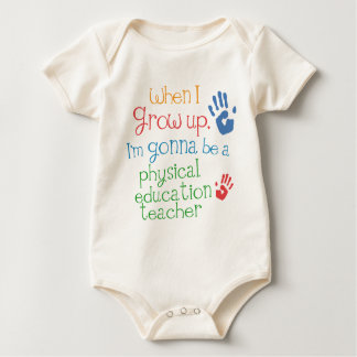 Physical Education Teacher (Future) Infant Baby T- Creeper