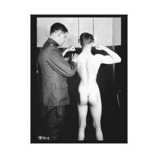 Physical examinations of_War Image Canvas Print