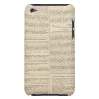 Physical Features of Europe, Asia Case-Mate iPod Touch Case