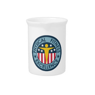 Physical Fitness Excellence Beverage Pitcher