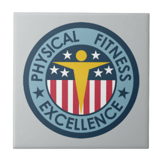 Physical Fitness Excellence Ceramic Tile