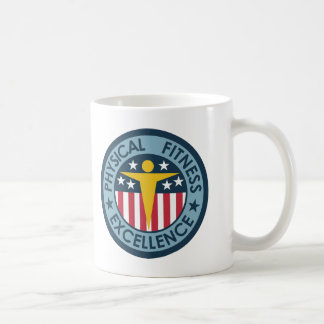 Physical Fitness Excellence Coffee Mug