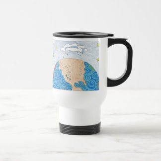 physical geography 15 oz stainless steel travel mug