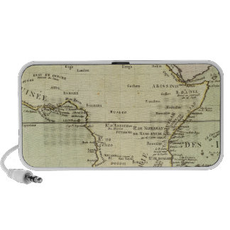 Physical map of Africa iPod Speaker