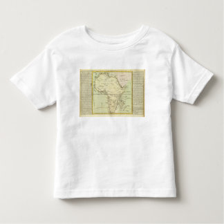 Physical map of Africa T Shirt